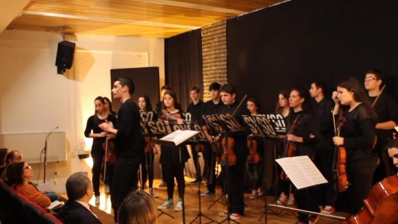 Domingo Escobar presentando el concierto FOTO Rafael Nieto López