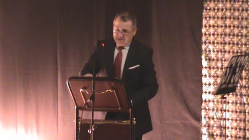 El Alcalde presentando el Concierto FOTO Carlos Martínez Mellado